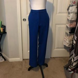 Royal Blue Cropped Slacks